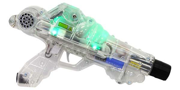 photo of a laser tag gun