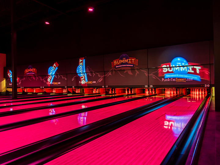 The Best Bowling Lanes!